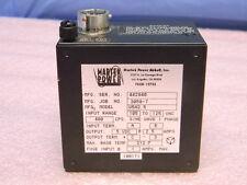 Martek Power W5a25 Dc Power Supply 5vdc 25a 5w 400 Hz