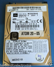 ATOM20-05 PROCOM TECHNOLOGY 20GB Laptop Hard Drive 010 B1/MA014A 20.00GB