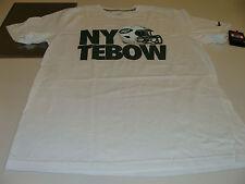 NFL Football XL Нью-Йорк Jets Tim tebow (Тим тебоу) футболки T новый с Ярлыками белый хлопок