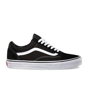 Vans Adult Unisex Old Skool Skate Casual Shoes Black/White VN000D3HY28