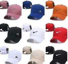 Unisex Swoosh-Adjustable Size Back-Ball Caps, Hats Various Colors