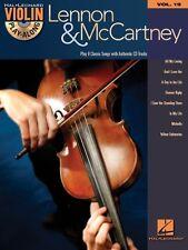 Lennon & McCartney Violin Play-Along Book and CD NEW 000842564