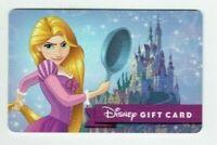 Disney Gift Card Princess Rapunzel / Tangled / Frying Pan / Castle - No Value
