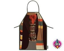 DR WHO 50th ANNIVERSARY THE FOURTH DOCTOR KITCHEN APRON CHEF OFFICIAL NEW TAGS