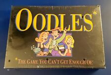 1992 OODLES Electronic Card Board Game Milton Bradley Hasbro 3+ Adult NOS Sealed