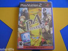Ps2 PlayStation 2 Shin Megami Tensei Persona 4