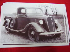 1937 FORD PICKUP   11 X 17  PHOTO /  PICTURE