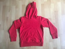 Sweat à capuche rouge DIESEL Taille 12 ans Neuf
