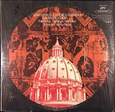 Kings College Choir, Palestrina - Pope Marcellus Mass & Missa Brevis, LP