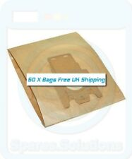 Vacuum Cleaner Dust Bags for Miele S711 S711-1 S712 -Pack Of 50- FJM Type