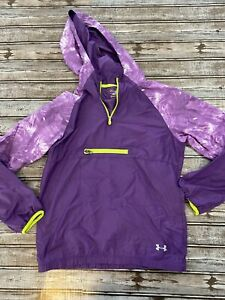 Under Armour  hooded pullover windbreaker jacket youth XL LOOSE