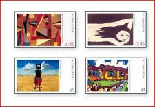 AUS0308 Contemporary painting 4 stamps