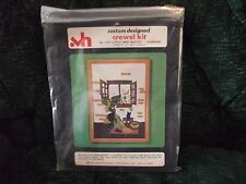 Valley Handcrafters crewel embroidery kit little miss muffet-cleaning no 510
