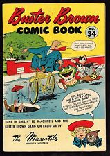 Buster Brown Comic Book #34 ~~1945 (5.0) WH
