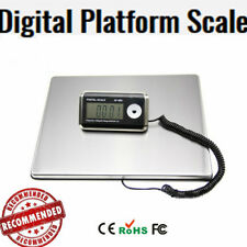 200kg Portable Large Electronic Digital Scale Computing Stainless Steel Platform