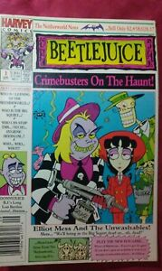 Beetlejuice: Elliot Mess and the Unwashables #1 Harvey Crime Busters on the haun