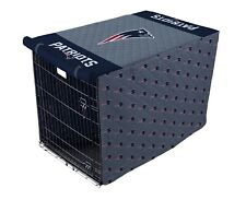 NFL New England Patriots Quilted Pet Crate/Cage Cover in Sizes Large or X-Large