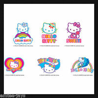 Hello Kitty Tattoos x 12 Birthday Supplies, Loot Bag, Party Favours Favors
