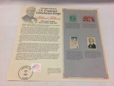 President Millard Filmore 4 Stamps, 1938-1986 Mint Commemorative - Free Shipping