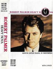 ROBERT PALMER HEAVY NOVA CASSETTE ALBUM INDONESIAN ISSUE ROCK POP