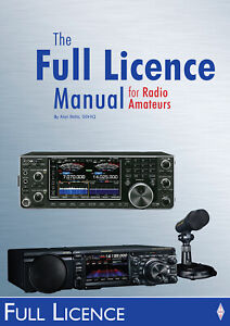 Full Licence Manual for Radio Amateurs 2nd Ed - Ham Exam Book FREE P&P