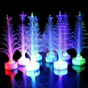 Color Changing Christmas Xmas Tree LED Light Lamp Home Decor DIY Party W6S2
