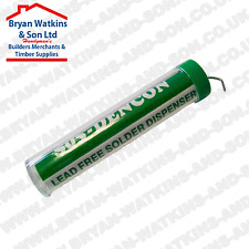 Dencon Flux Cored Electrical Solder 1 mm 40/60 Alloy, Lead Free Tube Dispenser