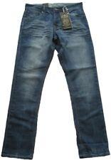 Blend Uomo Jeans Gonna Pantaloni Denim Black REGULAR FIT STYLE NUOVO 20704824