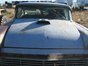1957 '57 FORD Hood w/ Scoop Custom Fairlane Ranchero Sedan Delivery ALL MODELS
