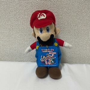Super Mario Party 5 MP5 Sanei Hudson Soft 2003 Beanie Mario Plush Toy IN STOCK