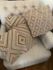 Set/3 decorative pillow covers