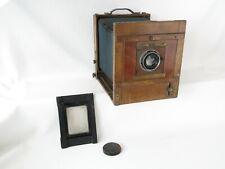 Holzkamera 24x24 wooden camera Opt. Werke Rüdersdorf Berlin Acomar 1:4,5 F=18cm