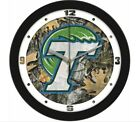 "SunTime Tulane University Green Wave Camo 12"" Wall Clock"