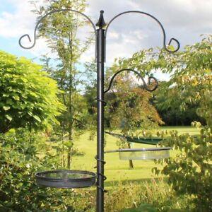 Bird Feeding Stations Seed Nut Complete Stand Feeder Tree Wild Home Garden Birds