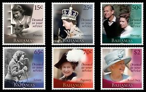 BAHAMAS 2021 QUEEN ELIZABETH II 95th BIRTHDAY DEVOTED TO YOUR SERVICE [#2101]