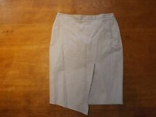 """Ladies Autograph Silver Grey Lined Pencil Skirt Sz 10 Lgth 22"""" (£39.50) New"""