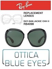 Lenti di Ricambio RAYBAN JACKIE OHH II RB4098 601/71 Replacement Lenses Ray Ban