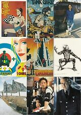 TANK GIRL MOVIE 1995 COMIC IMAGES COMPLETE BASE CARD SET OF 90
