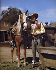 ROY ROGERS & TRIGGER 8X10 PHOTO TV PICTURE COWBOY WESTERN