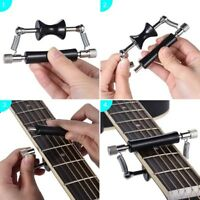 Rolling Guitar Capo Glider Quick Setup Sliding Capo for Folk Acoustic Guitar CO