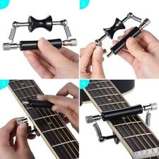 Rolling Guitar Capo Glider Easy Sliding Up & Down for Classic Acoustic Guit BS