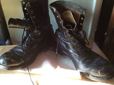 Vintage PANCO Vietnam War Era Military Boots Mens Size 10 Dated 1966 BILTRITE