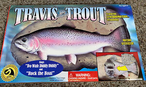 Travis The Singing Trout Motion Activated Fish