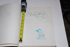 Jon Van Fleet Geof Darrow Rusty Stamp Autograph Sketch 1992 San Diego Comic Con Comic Art