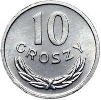 Polen - Münze - 10 Groszy 1978 - Aluminium - Stempelglanz UNC