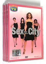 SEX AND THE CITY SECONDA STAGIONE Episodi 1-18 SERIE 2 COMPLETA 3 DVD SIGILLATI