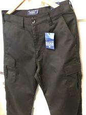 🔥Lee Cooper Pro Work Trousers Brand New Black Cargo Size 32'L🔥