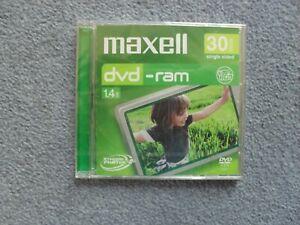 Maxell DVD-Ram 8cm Camcorder Disc 1.4GB 30min (New)