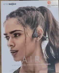 Aftershokz AIR Bone Conduction Bluetooth Open Ear Headphones : FOREST GREEN