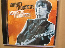 Johnny Thunders - Acoustic Thunders   CD 2008  NEW   new york dolls
